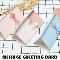 Love Birthday Greeting Card Postcard Message Paper Best Wishes Gift