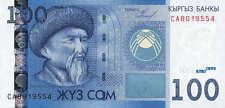 Kirgistan / Kirgisistan / Kyrgyzstan 100 Som 2009 Pick 26 (1)