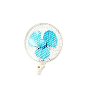 "Hydroponic Grow Tent Oscillating Grip Clip Fan - 6"" Inch   150MM"