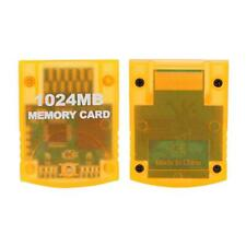 1024MB Large Capacity Memory Card Game Accessory for WII Gamecube Game Console