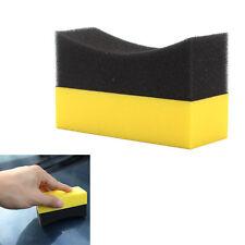 Car U-Shape Tire Waxing Polishing Compound Sponge Pads Tyre Polish Clean Brush