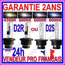PAIRE 2AMPOULE LAMPE FEU XENON HID D2S D2R 35W 12V 85126 85122 4300K 6000K 8000K
