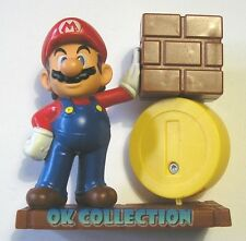 HAPPY MEAL MC DONALD'S 2013 SUPER MARIO BROS_ personaggio MARIO CON MONETA