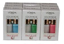 18 x Loreal Color Riche Manicure Nail Polish | 6 Shades | Wholesale Cosmetics