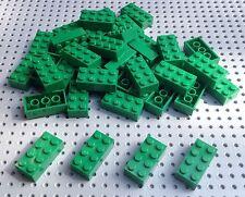 Lego 2x4 grüne Brick (3001) x10 im Set * BRANDNEU * City Star Wars Minecraft