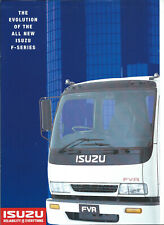 ISUZU F SERIES TRUCKS BROCHURE