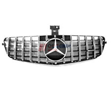 Mercedes Benz C-CLASS W204 GTR Front Grille for  C180 C200 C300 08-14 Silver