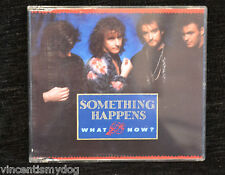 SOMETHING HAPPENS - WHAT NOW (4 track UK CD single)