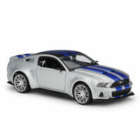 1:24 Ford Mustang Street Racer 2014 Collectable Model Car Diecast Gift Silver