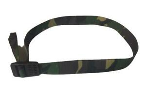 "33"" Dutch Army Woodland pattern webbing belts"
