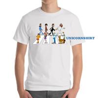 Scooby-Doo Shaggy Rogers Fred Jones Billiards Funny Black T-Shirt S-6XL