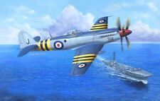 Trumpeter 1/48 Scale Model Fighter Kit Supermarine Seafang F.MK.32 w/PE Parts