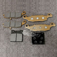 Front&Rear Disc Brake Pads Fit For Suzuki GSF 250 Bandit SV400 /650 GS500 GSF600
