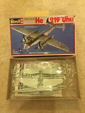 Revell 1/72 Heinkel He-219 Uhu; kit # 4127.  MINT!
