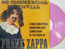 "FRANK ZAPPA ""NO COMMERCIAL POTENTIAL""  lp promo pink vinyl mint"