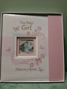 Baby Girl Memory Book Christian art gifts New in box