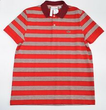 Lacoste Regular Fit Striped Pique Polo PH4227 51
