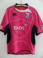 2008 Canterbury Cardiff Blues Rugby Union Mens Jersey Shirt Adults Top Away Pink