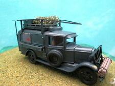 "Busch (HO 1:87) Ford Model AA Military Wagon ""Panzer Division"" #47728"