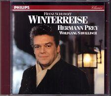 Hermann PREY: SCHUBERT Die Winterreise Wolfgang SAWALLISCH Philips CD 1971