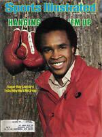 1982, Nov. 15 Sports Illustrated, Boxing,magazine, Sugar Ray Leonard
