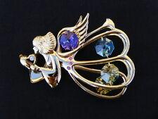 Large Crystal Guardian Angel Sun Catcher/Rainbow Maker with Swarovski Elements