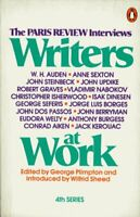 Writers at Work: The Paris Review Interviews, Fourth Series: 4th Se... Paperback