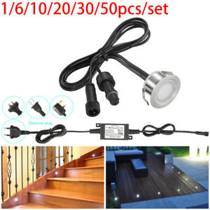31mm Waterproof LED Deck Stair Light Floor Lamp Patio Light Outdoor Garden Lamp