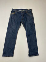 DIESEL KROOLEY SLIM CARROT Jeans - W34 L30 - Navy - Great Condition - Men's