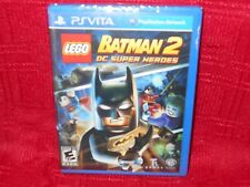 LEGO BATMAN 2:  DC SUPER HEROES PSVITA FACTORY SEALED!!!  UPC PUNCHED!!!  LOOK!!