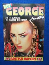 BOY GEORGE COMPLETE ~ BRITISH IMPORT ~ ALL THE FACTS RECORDS-THE HISTORY ~1984