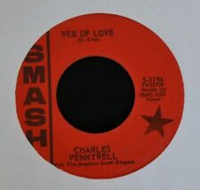 Charles Pennywell SMASH 1794 Web of Love and It's So Funny I Could Cry EX