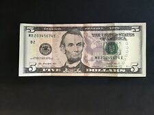 2013 $5 Ladder Note, 2-7 S#MB20345674E