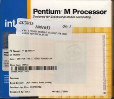 INTEL PENTIUM M 740 MOBILE 1.73GHZ 533FSB 2MB CACHE SOCKET 478 - NICE!