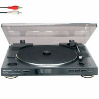 Pioneer PL-990 Vinyl Turntable Stereo Vinyl Player Automatic/33-45 rpm/Hands-off