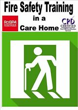 Basic Fire Safety for Care Homes Health & Safety computer based E-learning