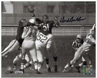 Autographed Dick Butkus Chicago Bears 8x10 Signed Black Ink Horizontal Photo