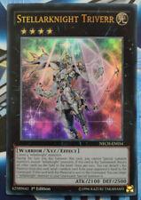 Yugioh Stellarknight Triverr NECH-EN054 come Nuovo Ultra Raro 1st Edizione Carta