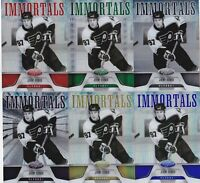 11-12 Certified Jeremy Roenick /25 IMMORTALS MIRROR GOLD Flyers 2011