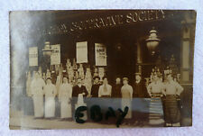ORIGINAL PHOTOGRAPHIC POST CARD ENFIELD HIGHWAY COOPERATIVE SOCIETY LTD