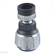 360 Degree Water Bubbler Swivel Head Saving Tap Faucet Aerator Connector SF Tool