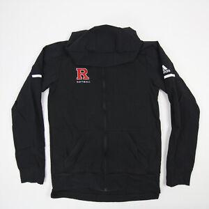 Rutgers Scarlet Knights adidas Climalite Jacket Men's Black Used