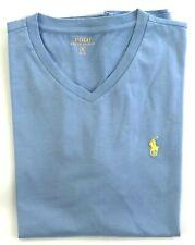 1573555d Mens Red Ralph Lauren Polo T Shirt Classic Fit S Light Blue