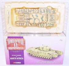 Corgi World War II 1:50 British Army CHURCHILL TANK MkIII NORTH AFRICA RAC MIB!