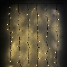 DEL Rideau Fenêtre étoiles scintillantes Fairy String Lights Moon Party Hanging Plug