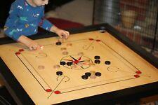 Carrom Board Game Coins Striker Rosewood Board Carrom Board Set Size 33 x 33Inch