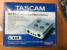 TASCAM US-12L USB Interface