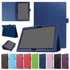 "Leather Stand Fold Case Cover For Lenovo Smart Tab M10 TB-X605/505F 10.1"" Tablet"