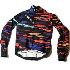 Women's 2019 Rapha Canyon/SRAM Team Cycling Winter Jacket, Black, Size S / 2 EUC