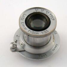 LEICA Elmar 3,5/50 M39 LTM 50 50mm F3,5 collapsible versenkbar adaptable M A7 20